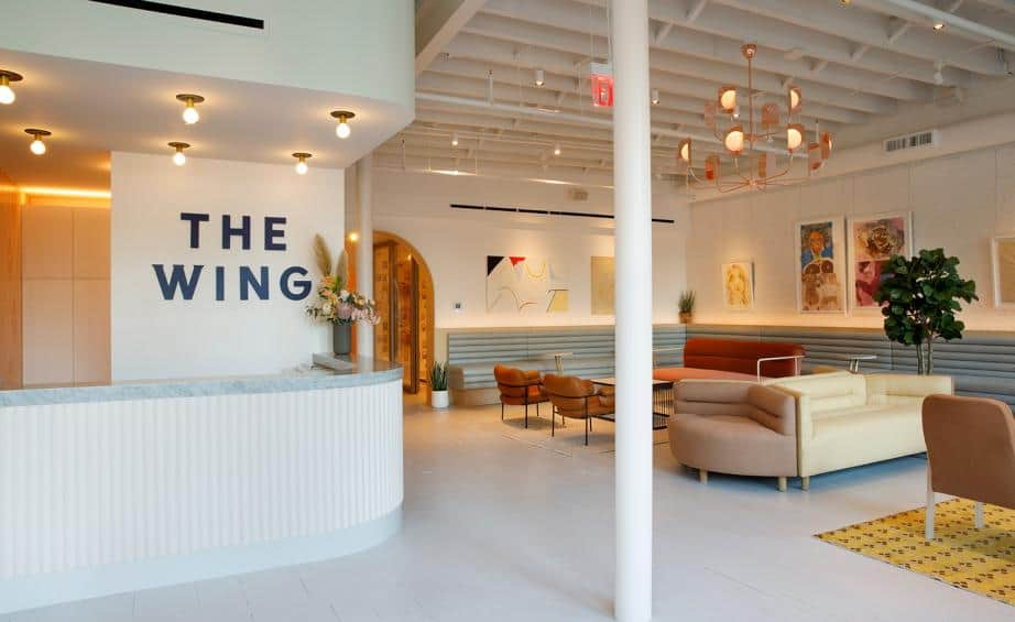 The Wing: Coworking Space